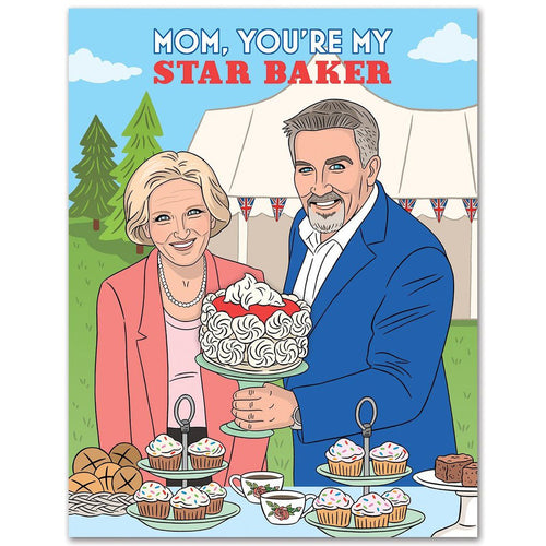 Mom, You're my Star Baker Card