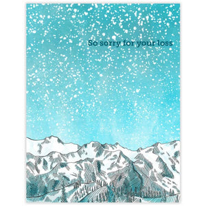 Sympathy Mountain Card