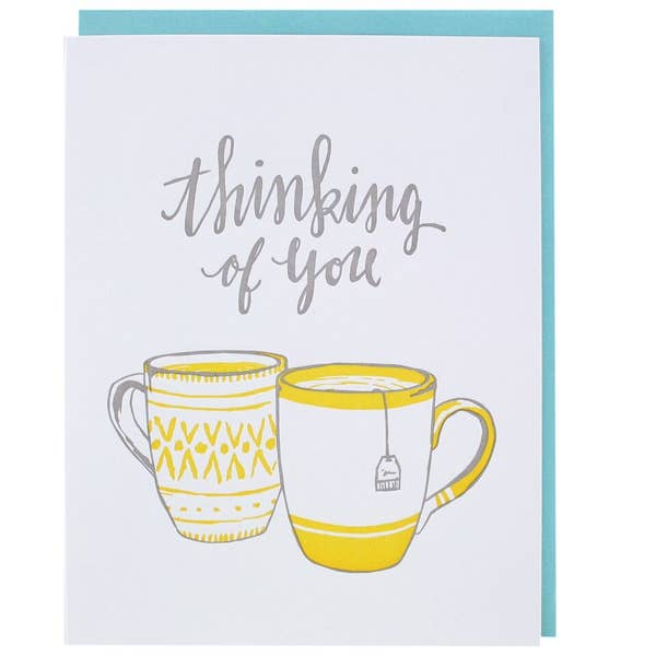 Teatime Thinking of You Card