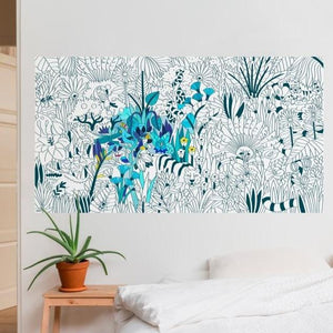 XXL Tropical REALLY big Rolled Coloring Poster