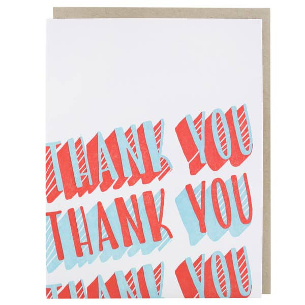 3-Dimensional Thank You Card