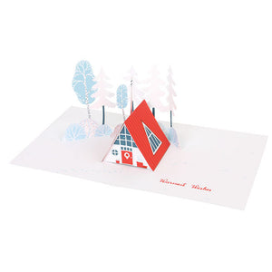Happy Winter- Pop up Card
