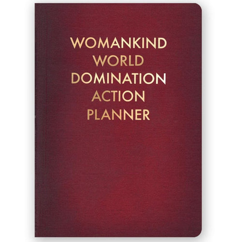 Womankind World Domination Action Planner Medium