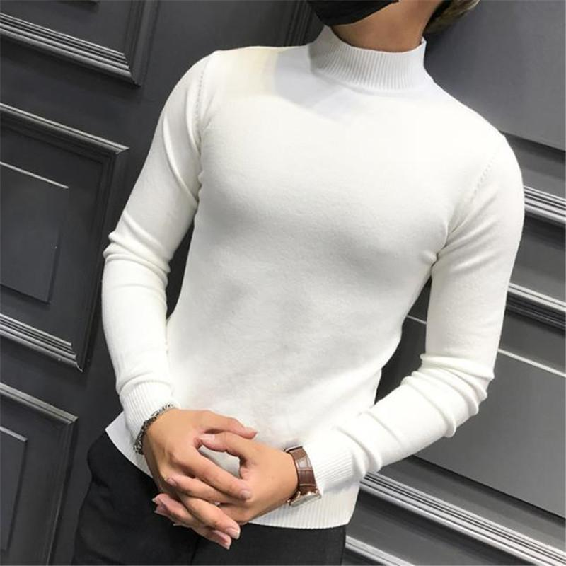 8dcaf5a9c9f Load image into Gallery viewer, Fashion Youth Casual Sport Thermal Slim  Plain Long Sleeve Top ...