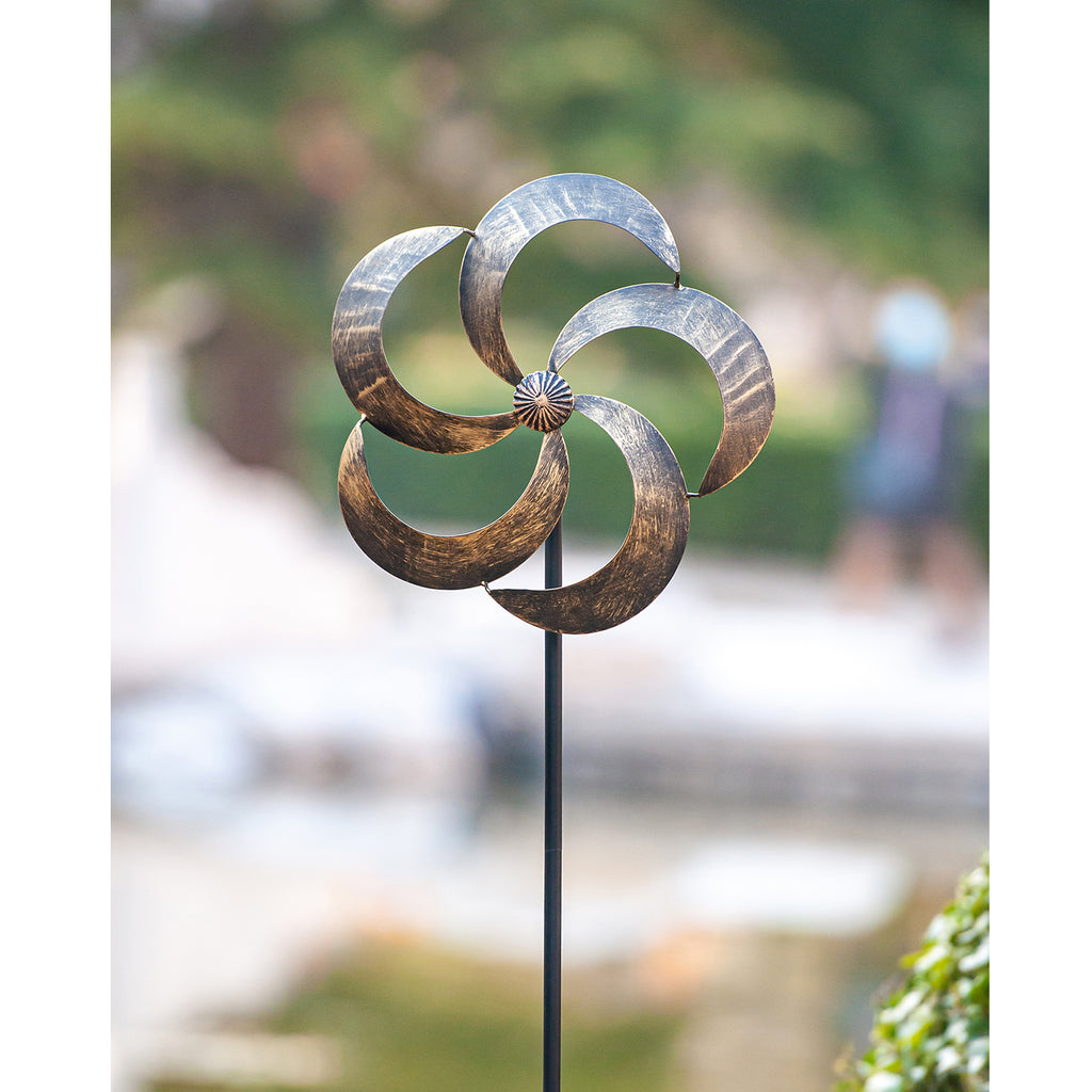 Wind Spinner Iris 61in Single Blade Easy Spinning (US Only)