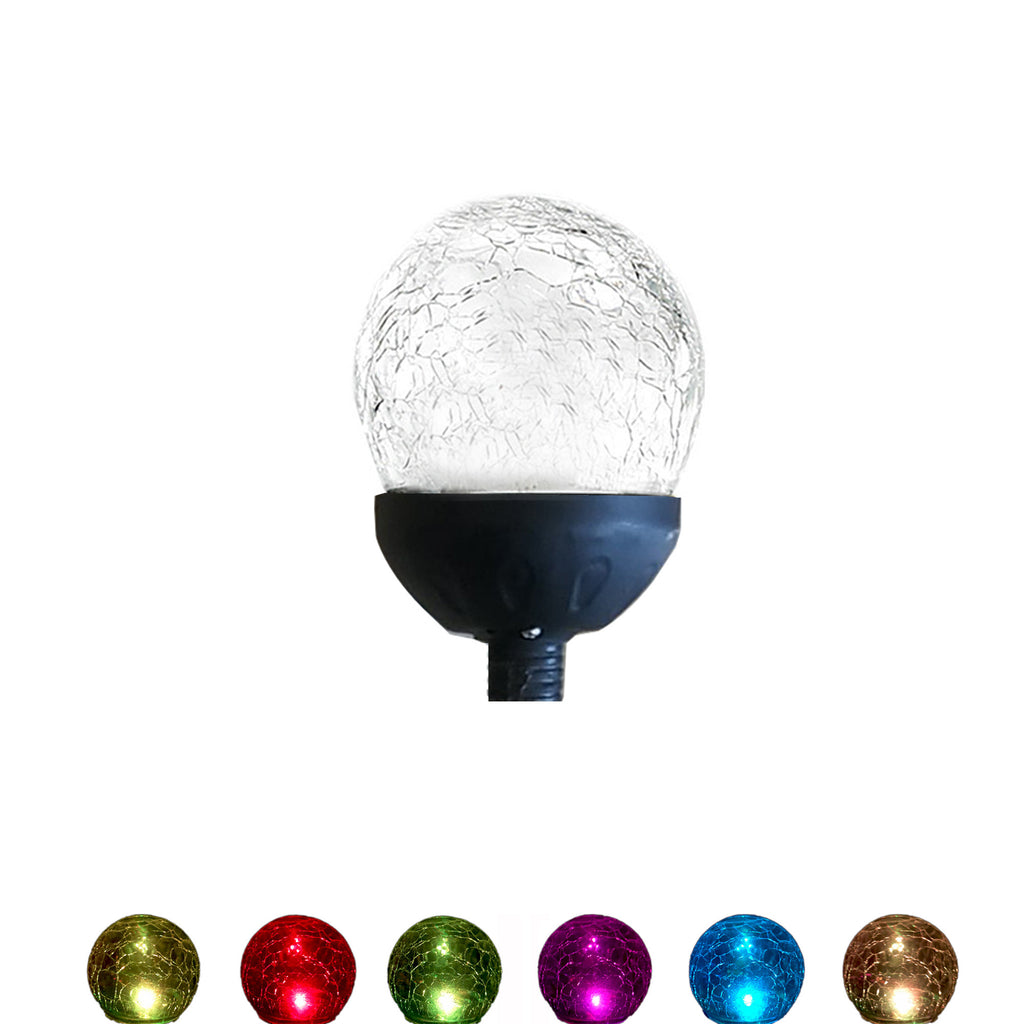 JS1011 & JS1084 - 1 Glassball for Wind Spinner Tricolor 75in & 84in