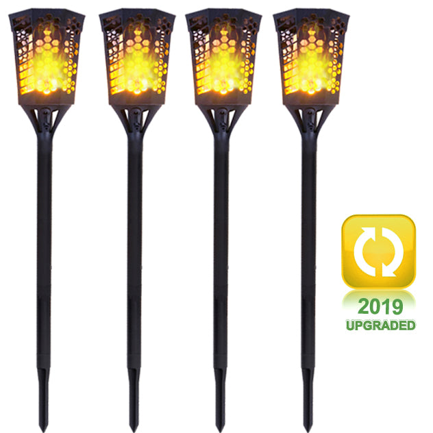 50% OFF NOW!!! - Solar Torch Landscaping Light Kit 4 Pack  (US only)