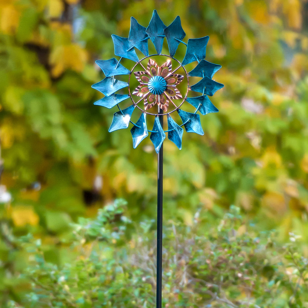 Wind Spinner Emerald 61in Single Blade Easy Spinning