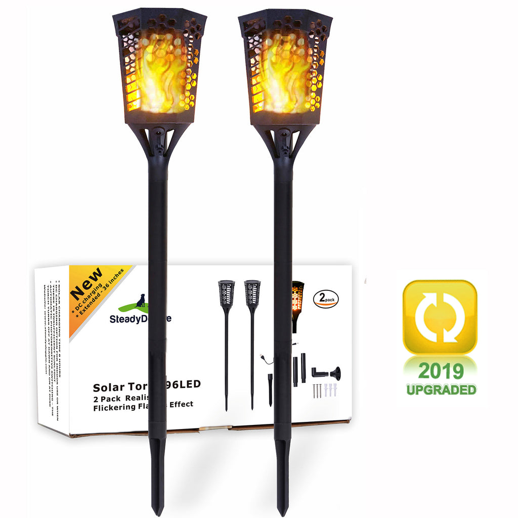 50% OFF NOW!!! - Solar Torch Landscaping Light Kit 2 Pack (US only) -YYB0180