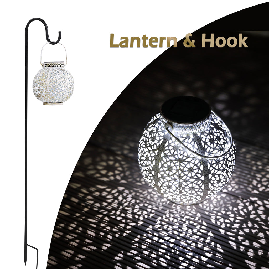 TH2003 - Solar Lantern & Shepherd's Hook (US Only)
