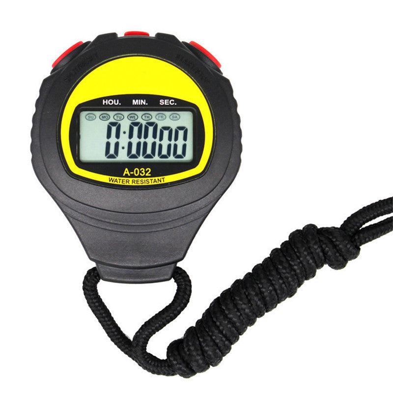 Multifunction Digital LCD Sport Stopwatch Electronic Stopwatch