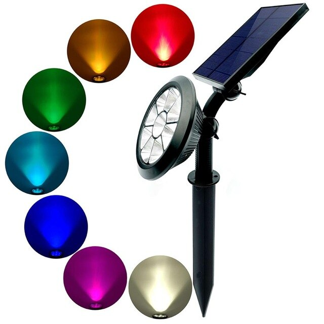 Waterproof 9 LED Solar