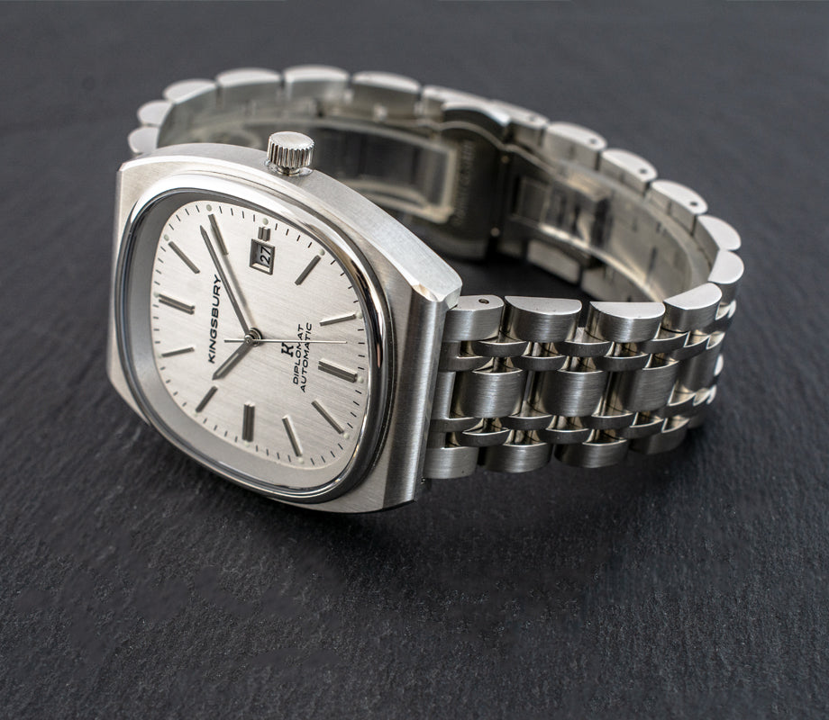 """Ambassador"" Stainless Steel Band"