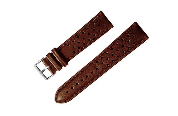 Leather Rally Strap (Dark Brown)