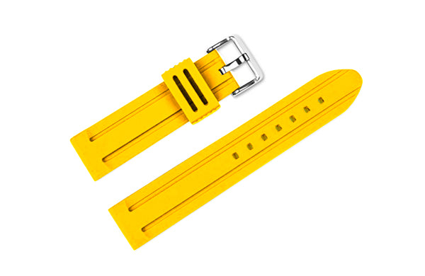 Elite Silicone Strap (Yellow)