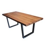 Reclaimed Wood Beam Table