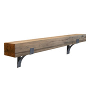 Brushed Oak Reclaimed Mantel