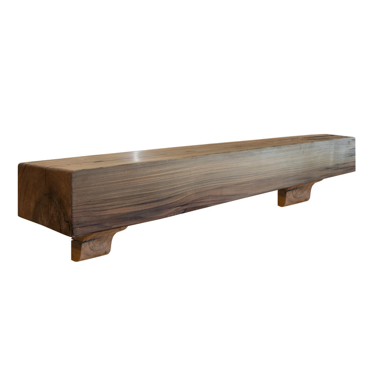 Sinker Cypress Reclaimed Wood Mantel