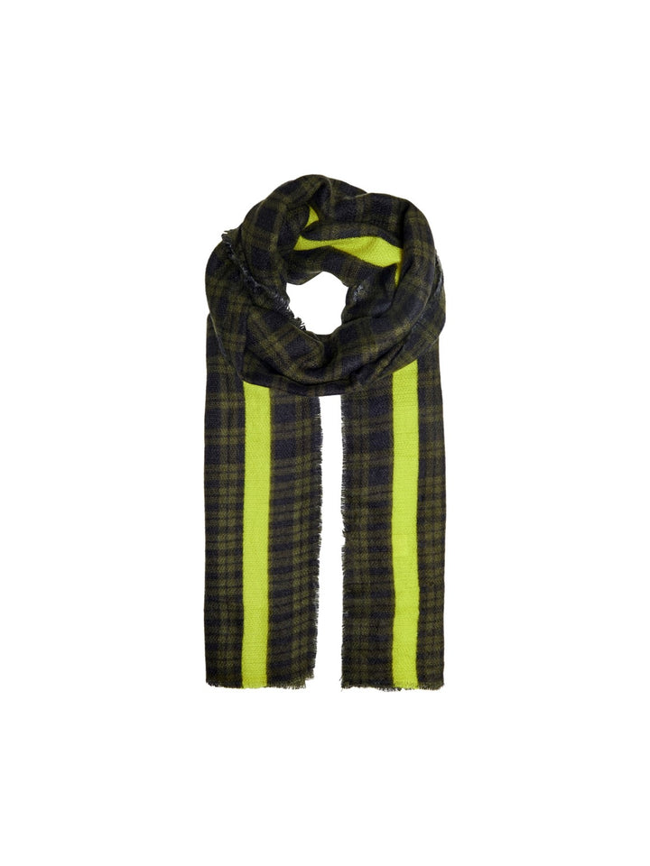 ONLY DIDA CHECKED WOVEN SCARF