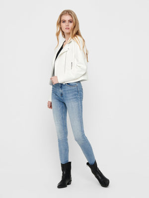 ONLY ENYA FAUX LEATHER BIKER