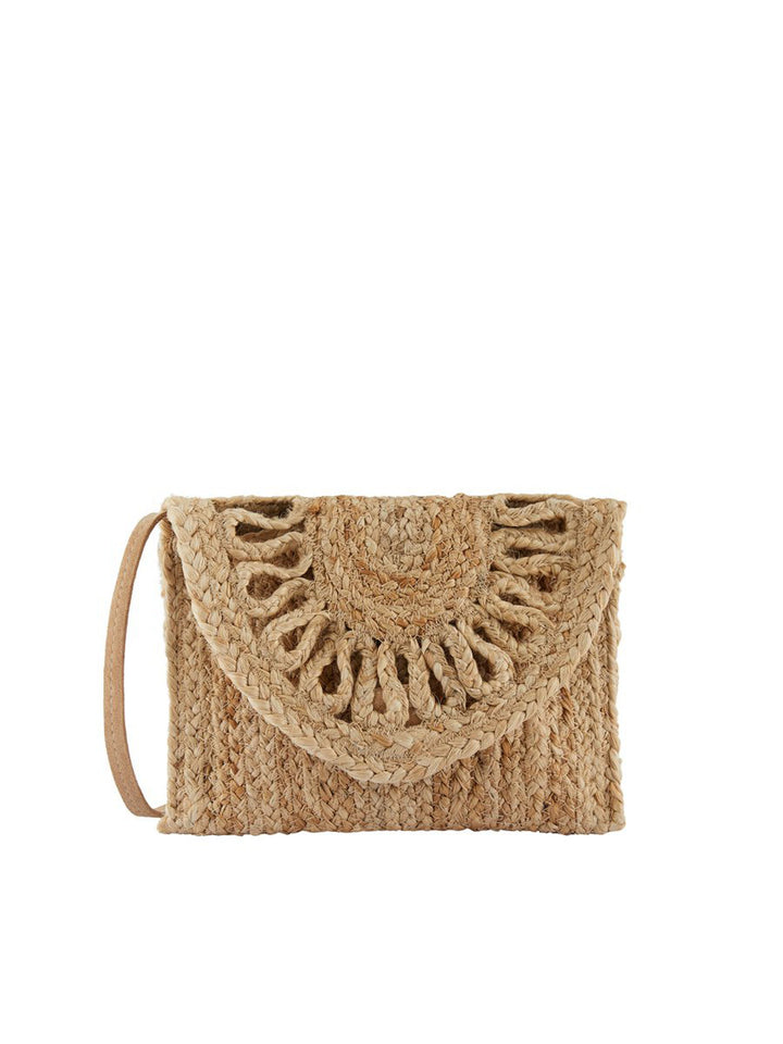 PIECES AMILIA JUTE CROSS BODY