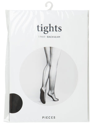 PIECES KYLEE BACKSEAM TIGHTS