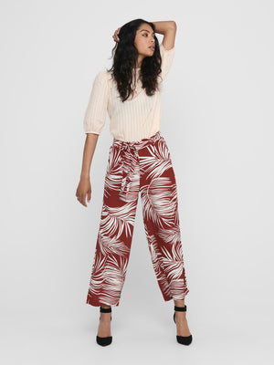 ONLY AUGUSTINA CROPPED PANT
