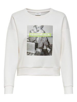 ONLY ZIGGI O-NECK SWEATSHIRT