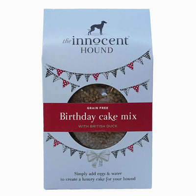Innocent Hound - The Innocent Hound - Birthday Cake Mix With British Duck (255g) For Dogs