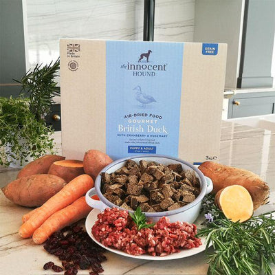 Innocent Hound - The Innocent Hound - Gourmet British Duck Air-dried Complete Food (3kg)
