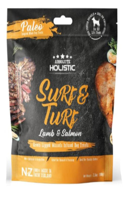 Absolute Holistic - Absolute Holistic Surf & Turf (100g) – Air Dried Dogs Treats