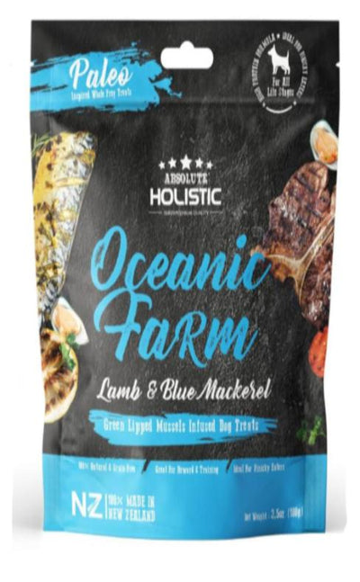 Absolute Holistic - Absolute Holistic Oceanic Farm (100g) – Air Dried Dogs Treats