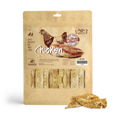 Absolute Bites Chicken Breast (170g / 500g) – 100% Deboned Air Dried Dog Treats