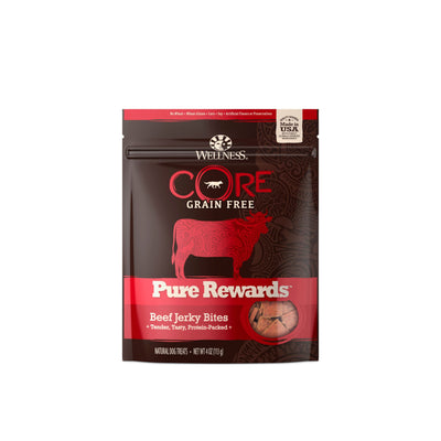 Wellness Treats - 11.11Sale: Wellness Core Pure Rewards Beef Jerky Dog Snacks (113g) - Only 6 Calories Per Treat