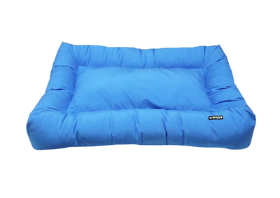 Dog Bed - Cycle Dog Waterproof Barrier Layout Dog Bed (Blue) - Anti Bacteria