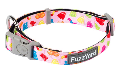 Fuzzyard Collar Leash - FuzzYard Jelly Bears – Collar & Leash