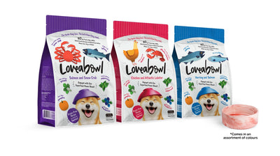 Loveabowl - Promo: Loveabowl Salmon With Snow Crab (3 Sizes) - Dry Dog Food