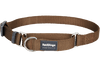 Martingale - Red Dingo Martingale Half Check Collar - Brown (4 Sizes)