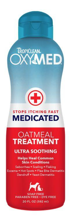 OxyMed Anti-Itch Medicated Oatmeal Dog / Cat Treatment Rinse (592ml) - Ultra soothing relief