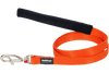 Martingale - Red Dingo Martingale Half Check Collar + Lead / Leash For Dogs - Orange (4 Sizes) - Maximum Control