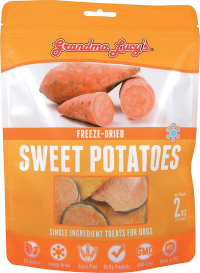 Grandma Lucy Singles Sweet Potato (57g) – Freeze Dried Dog / Cat Treat
