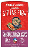 Stella & Chewy's Single-Sourced Stews Cage-Free Turkey (Grain Free) (311g) - Wet Dog Food (Turkey + Veggie)