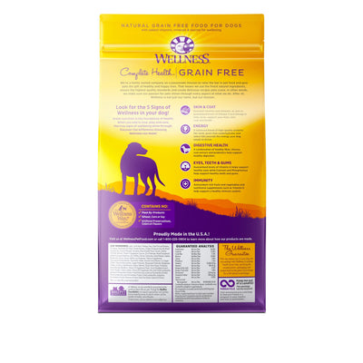 Wellness Complete Health Grain-Free Lamb and Lamb Meal (3 sizes) – Dry Dog Food