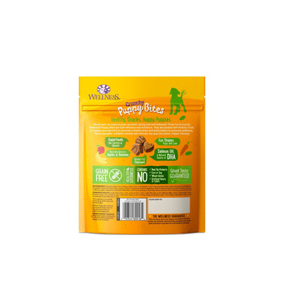Wellness Puppy Bites Crunchy Chicken and Carrots (170g) – Dog Training Treats