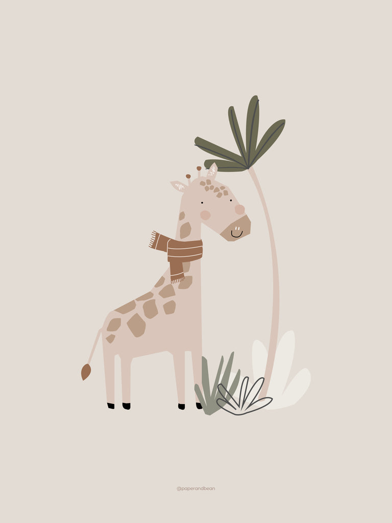 Jeffrey the giraffe