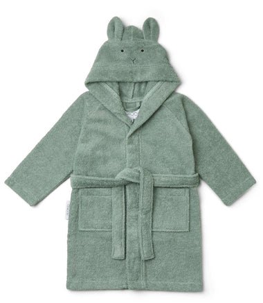 Liewood Lily Bathrobe | Rabbit Peppermint