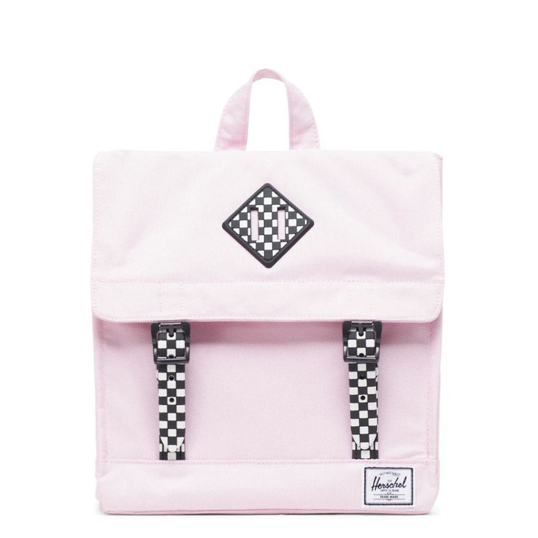 Herschel rugzak Survey Kids - Pink Lady Checkerboard