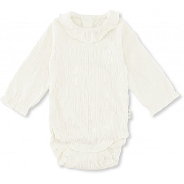 Konges Sløjd newborn Romper Chleo Off White