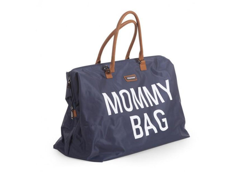 Childwood luiertas / weekendtas XL Mommy Bag marine - DE GELE FLAMINGO - 4