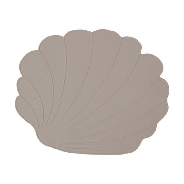 OYOY Siliconen Placemat Rainbow - Seashell Clay